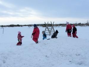 Vinter på Alvaret